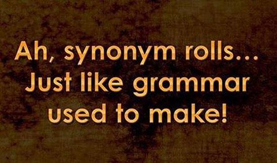 synonymrolls